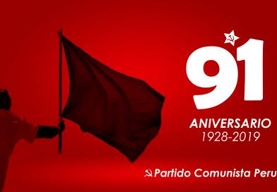 91 Aniversario del Partido Comunista