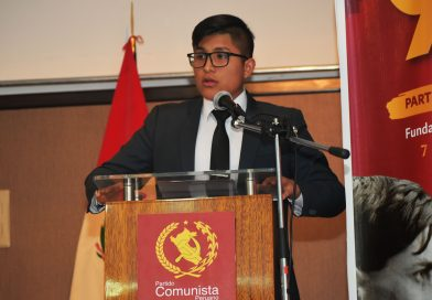 Discurso de la Juventud Comunista en el 91 Aniversario del PCP