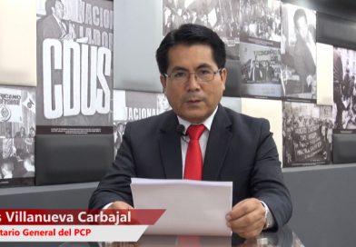 Discurso por el 91 Aniversario del PCP