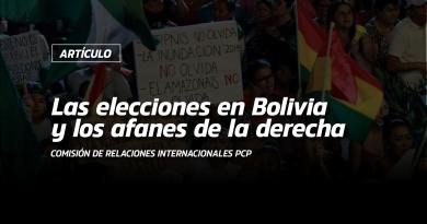 Las elecciones en Bolivia y los afanes de la derecha