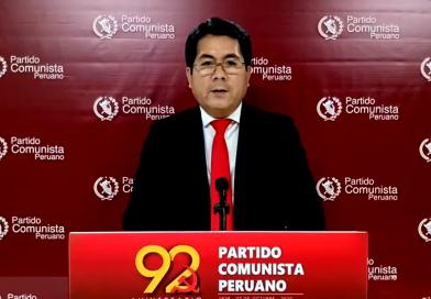 Mensaje Central al 92°aniversario de fundación del PCP