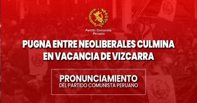 PUGNA ENTRE NEOLIBERALES CULMINA EN VACANCIA DE VIZCARRA