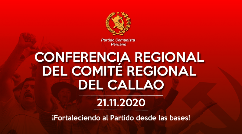 CONFERENCIA REGIONAL DE COMITÉ REGIONAL DEL CALLAO