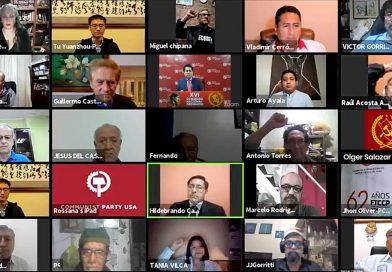 Discurso de lanzamiento del XVI Congreso Nacional Ordinario del PCP