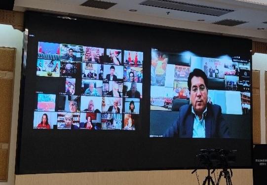 Intervención en el encuentro de los PC de América latina por los 100 años del PCCH
